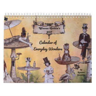 El calendario de la galleta 2017 de Winona de