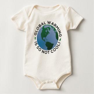 El calentamiento del planeta no es tan fresco body para bebé