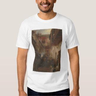 El callejón de Chinatown, canta el lavado de Yuen Camiseta