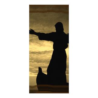 Él calmará sus tormentas; Sepia Lona