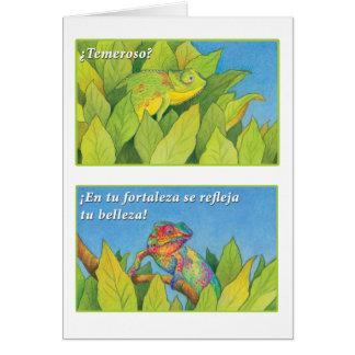 EL Camaleón, tarjeta