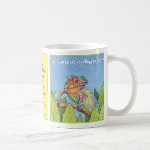 EL Camaleón, taza de café