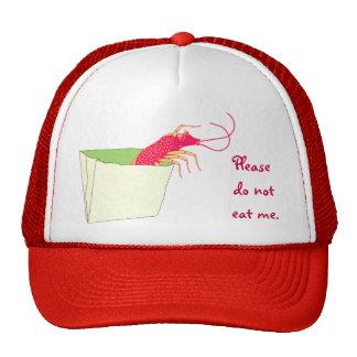 El camarón en la bolsa de papel gorro