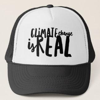 El cambio de clima es gorra real del camionero