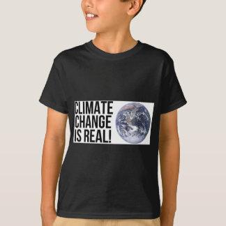 ¡El cambio de clima es real! Mundo de la tierra Camiseta