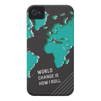 El cambio del mundo es cómo ruedo Case-Mate iPhone 4 protector