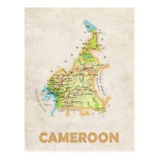 ♥ el Camerún de las POSTALES del MAPA