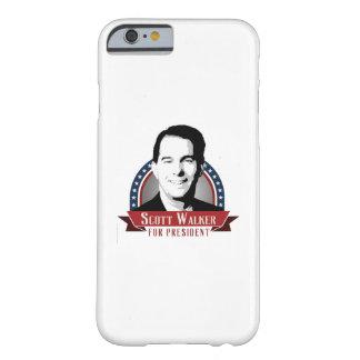 El caminante de Scott para el presidente 2016 Funda De iPhone 6 Barely There