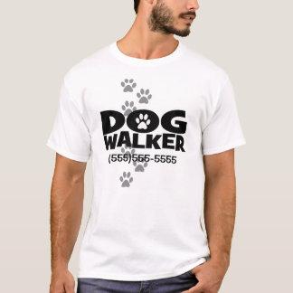 ¡El caminar del perro y promoción del caminante Camiseta