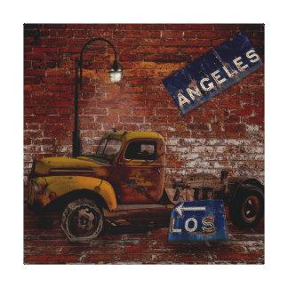 El camino a Los Ángeles Lona Estirada Galerias