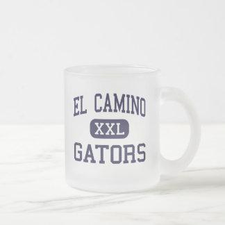 EL Camino - cocodrilos - alto - Whittier Californi Tazas De Café