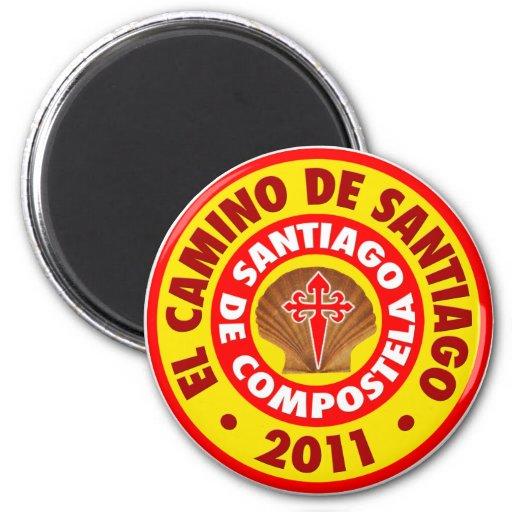 EL Camino de Santiago 2011 Iman Para Frigorífico
