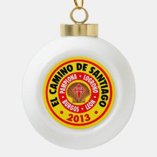 EL Camino De Santiago 2013 Adorno De Cerámica En Forma De Bola