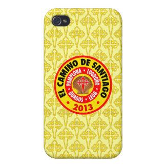 EL Camino De Santiago 2013 iPhone 4/4S Fundas