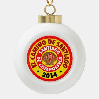 EL Camino De Santiago 2014 Adorno De Cerámica En Forma De Bola