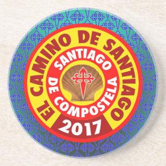 EL Camino de Santiago 2017 Posavasos De Arenisca