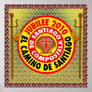 EL Camino de Santiago de Compostela Poster