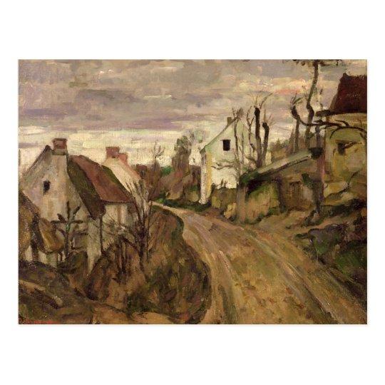 El camino del pueblo, Auvers, c.1872-73 Postal