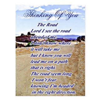 El camino, pensando en you_ tarjetas postales