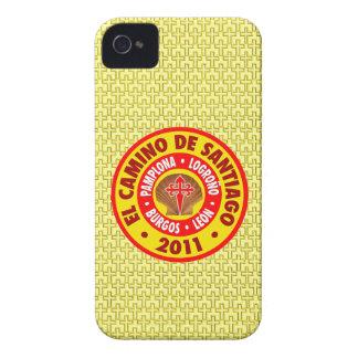EL Camino Santiago 2011 iPhone 4 Case-Mate Funda