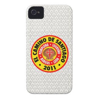 EL Camino Santiago 2011 iPhone 4 Case-Mate Cobertura