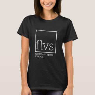 El camisetas negro de las mujeres de FLVS