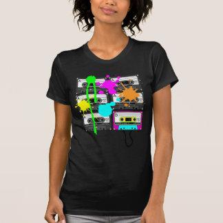 el camisetas oscuro de las mujeres de la cinta de