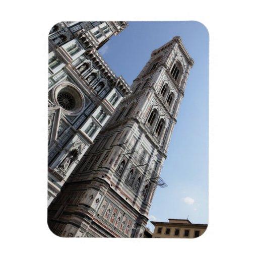 El campanario y Santa María del Fiore de Giotto Iman De Vinilo