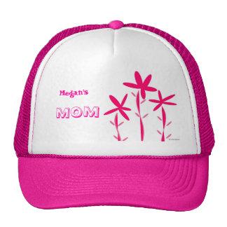 El campo del rosa florece el gorra