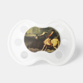 El canal de alimentación de Honore Daumier Chupetes Para Bebes