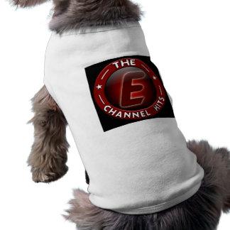 El canal de E golpea la camisa del perro Ropa De Mascota