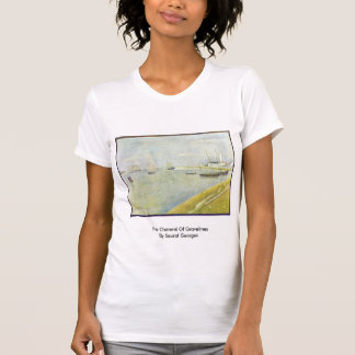El canal de Gravelines de Seurat Jorte Camiseta