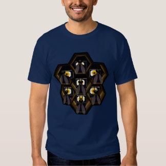 El canal de la flor camisetas