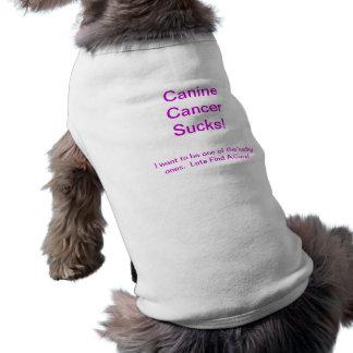 ¡El cáncer canino chupa!