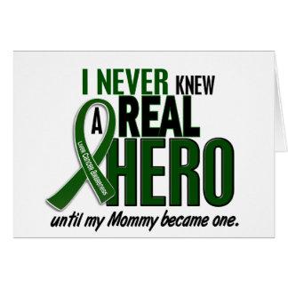 El cáncer de hígado NUNCA CONOCÍA a una mamá del Tarjeta De Felicitación