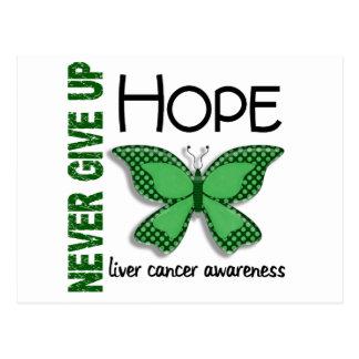 El cáncer de hígado nunca da para arriba la postal