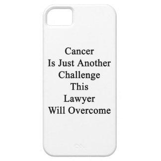 El cáncer es apenas otro desafío que este abogado iPhone 5 cobertura