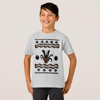 El cangrejo de coco de Fiji embroma la camisa