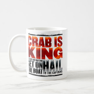 El cangrejo es rey Mug Taza De Café