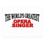 El cantante más grande de la ópera del mundo postales