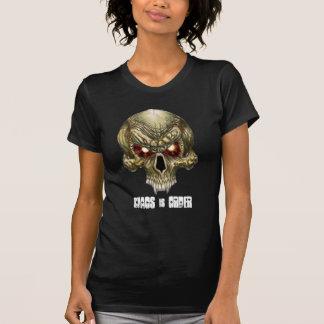 """El caos es orden """"Skully """" Camisetas"""