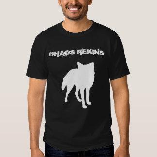El caos reina camiseta del Antichrist