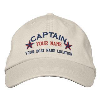 El capitán de mar personalizado protagoniza el gorras bordadas