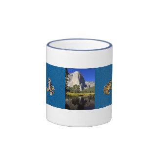 """""""EL Capitan"""" en taza del parque de Yosemite"""