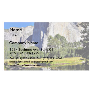 EL Capitan en Yosemite Tarjetas De Visita