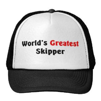 El capitán más grande del mundo gorra