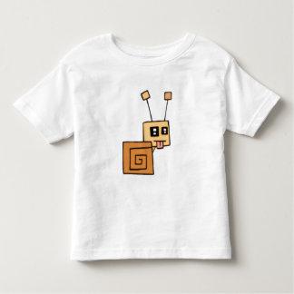 El caracol fresco embroma T Camiseta