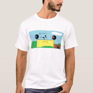 El caracol y los palillos camiseta