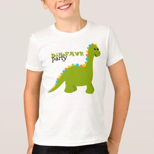 El caramelo colorea a Dino Camiseta