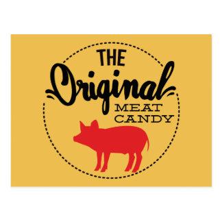 El caramelo original de la carne postal